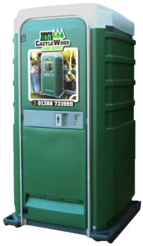Castlewood Loo - portable toilet hire